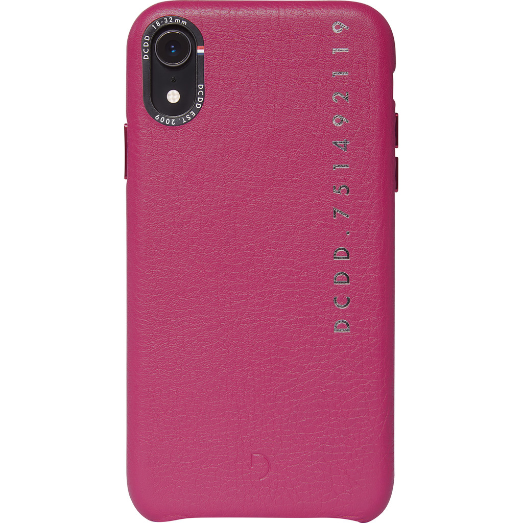 Decoded Leather Apple iPhone Xr Back Cover Roze
