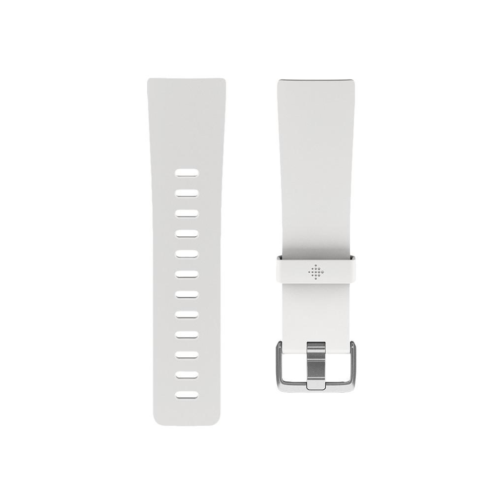 Fitbit Versa/Fitbit Versa Special Edition/Versa Lite Bandje Kunststof Wit L