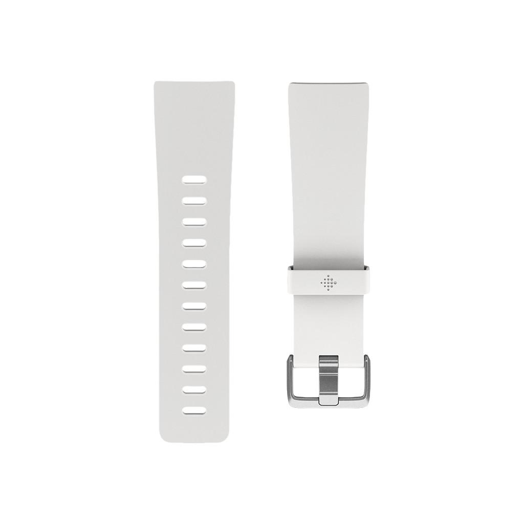 Fitbit Versa/Fitbit Versa Special Edition/Versa Lite Bandje Kunststof Wit S