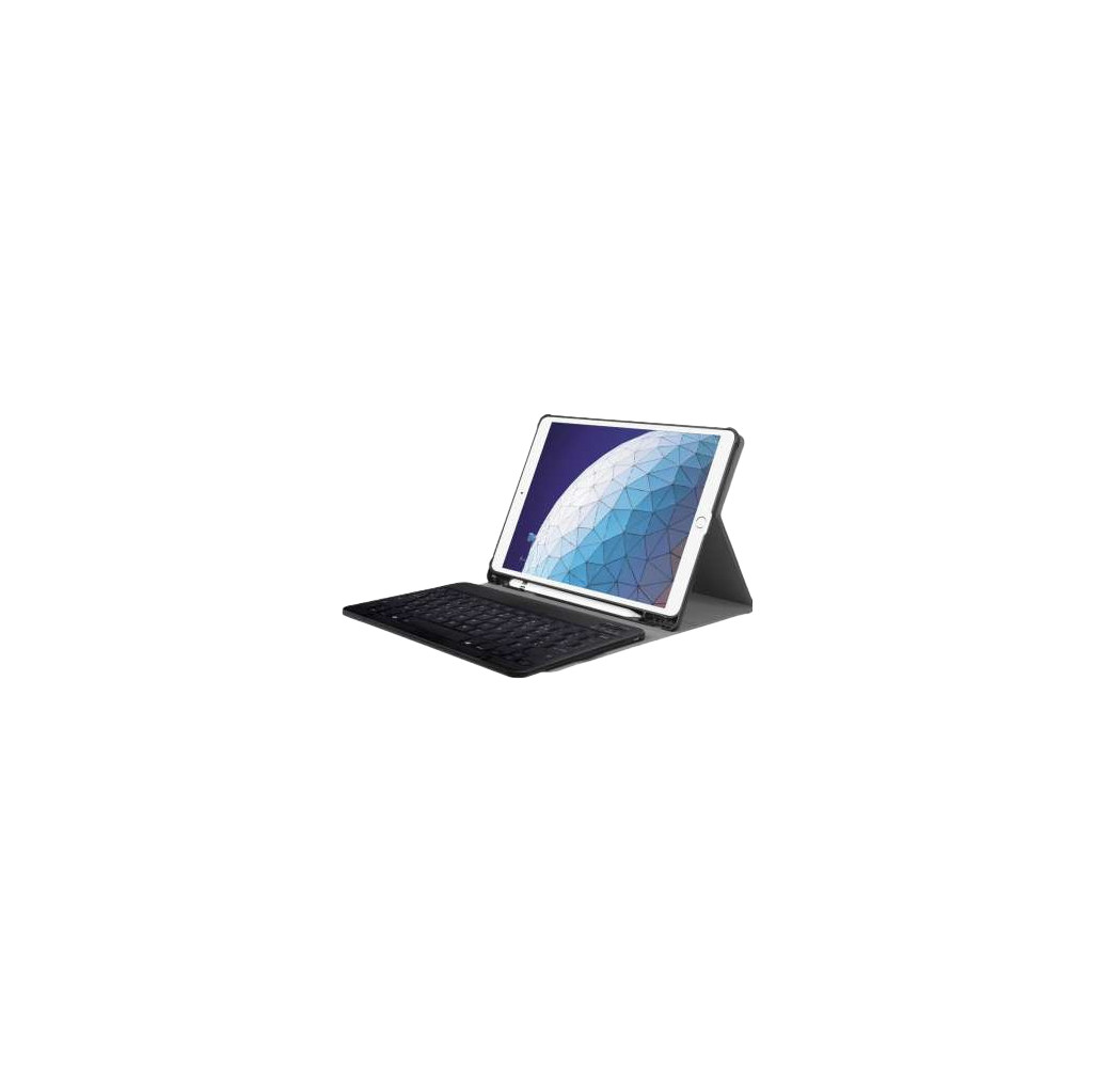 Just in Case Premium Bluetooth Lenovo Tab E10 Toetsenbord Hoes Zwart AZERTY