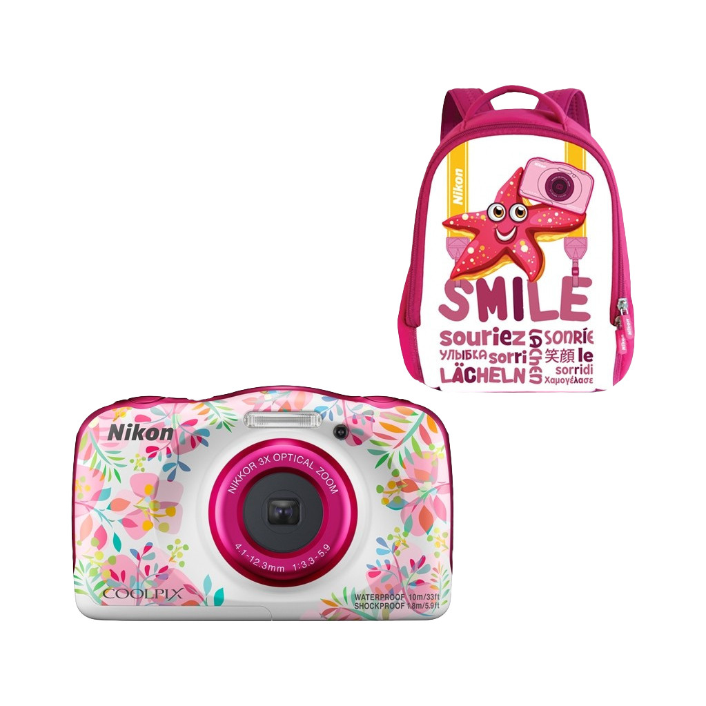Nikon Coolpix W150 Backpack Kit Bloem
