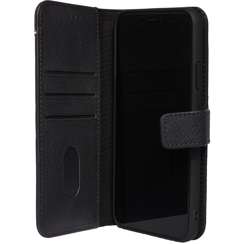 Decoded 2-in-1 Apple iPhone 11 Book Case Leer Zwart
