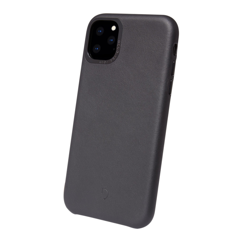 Decoded Apple iPhone 11 Pro Back Cover Leer Zwart