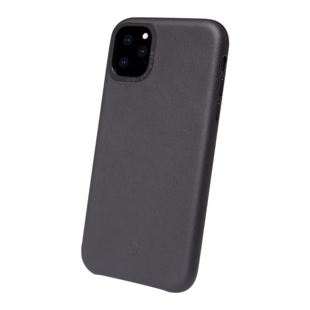 Decoded Apple iPhone 11 Pro Max Back Cover Leer Zwart
