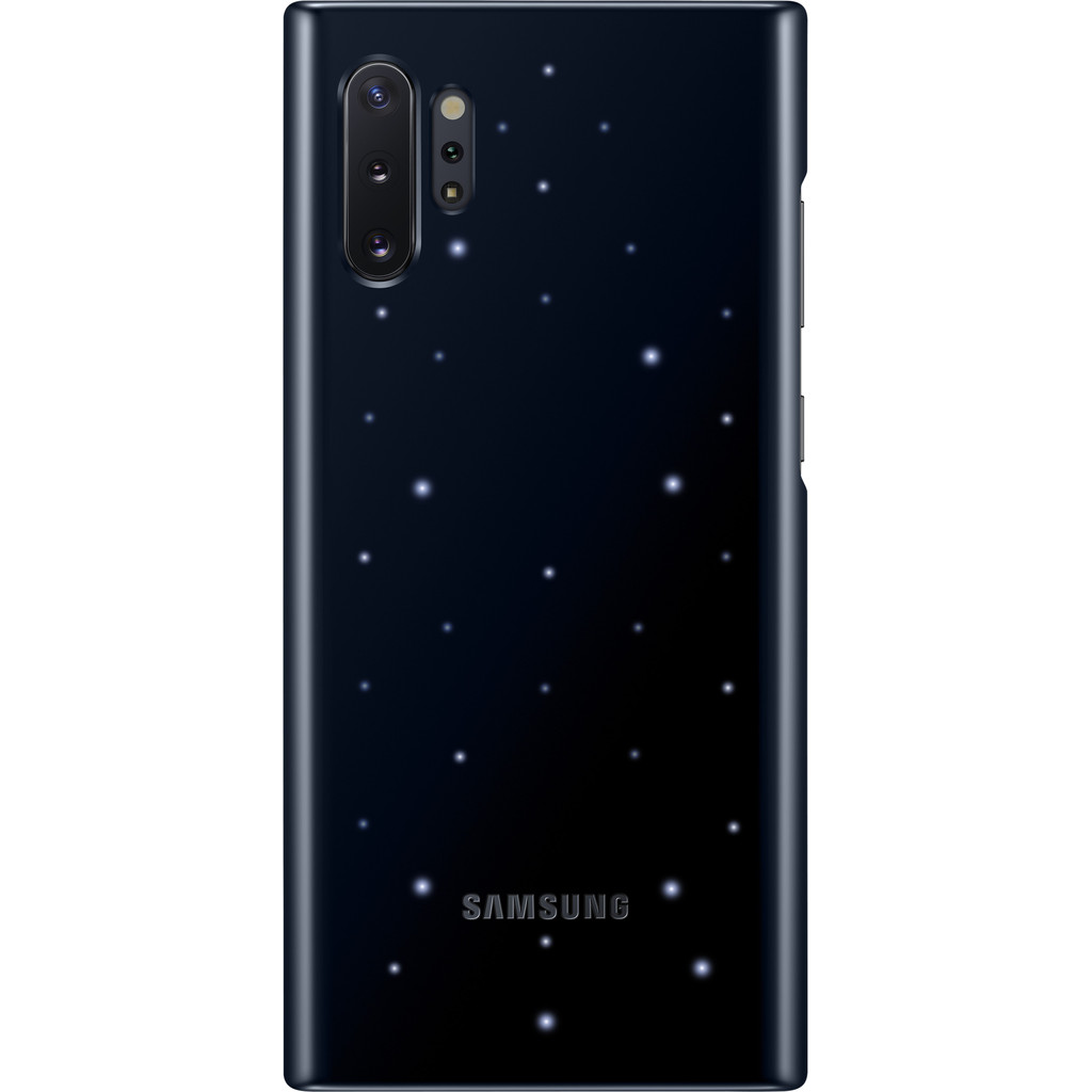 Samsung Galaxy Note 10 Plus Led Back Cover Zwart