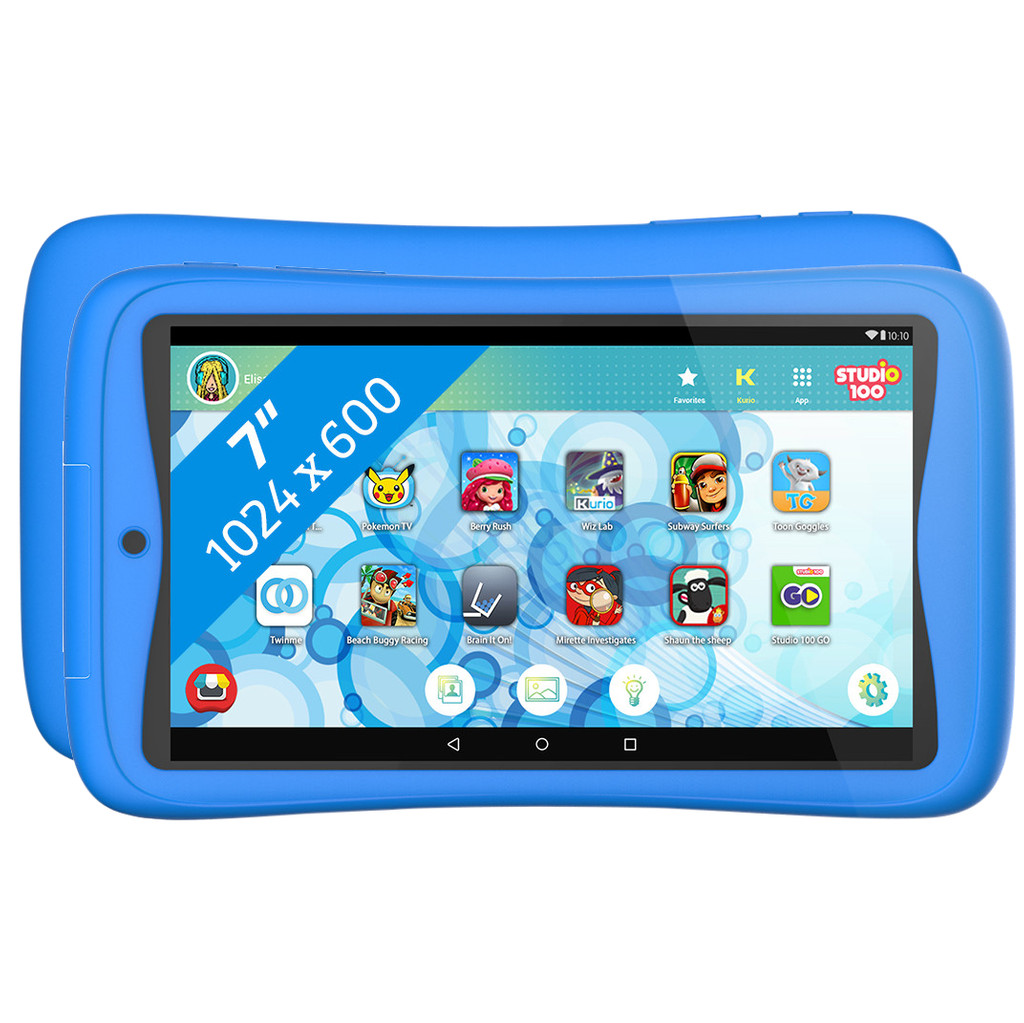Kurio Tab Connect Studio 100 7 inch 16 GB Wifi Blauw