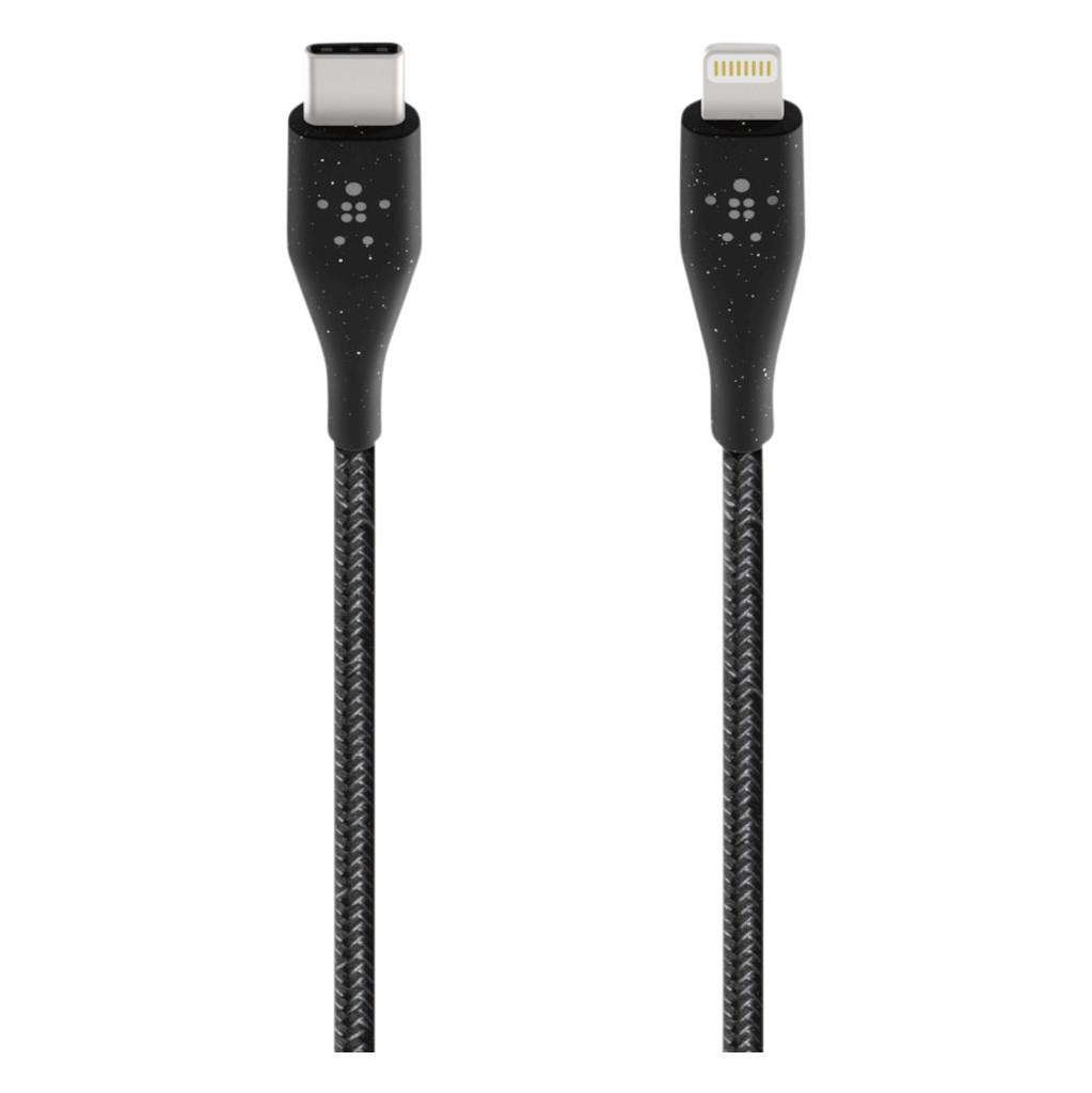 Belkin Duratek Plus Lightning naar Usb C Kabel 1.2m Zwart