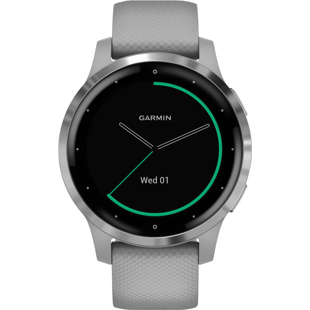 Garmin Vivoactive 4S - Zilver/Grijs - 40 mm