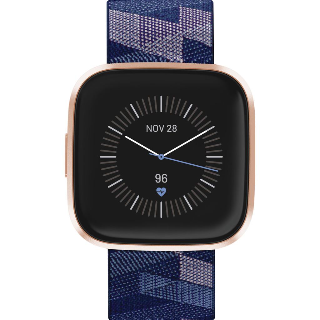 Fitbit Versa 2 Speciale Editie Koper/Blauw