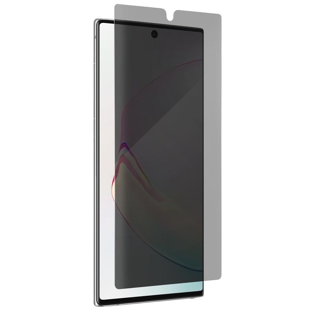 InvisibleShield Ultra Privacy Galaxy Note 10 Plus Screenprotector Plastic
