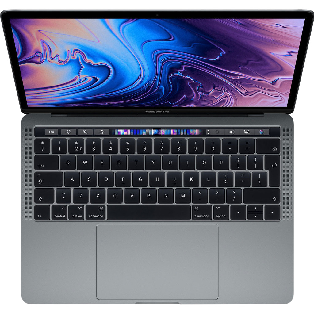"""Apple MacBook Pro 13"""" Touch Bar (2019) 8/512GB 1,4GHz Space Gray Azerty"""