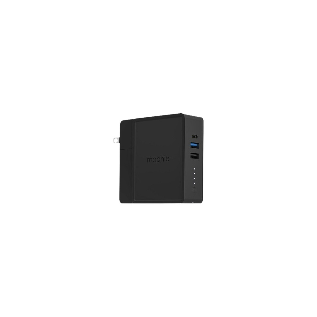 Mophie Powerstation Hub Powerbank 6.000 mAh Power Delivery + Quick Charge Zwart