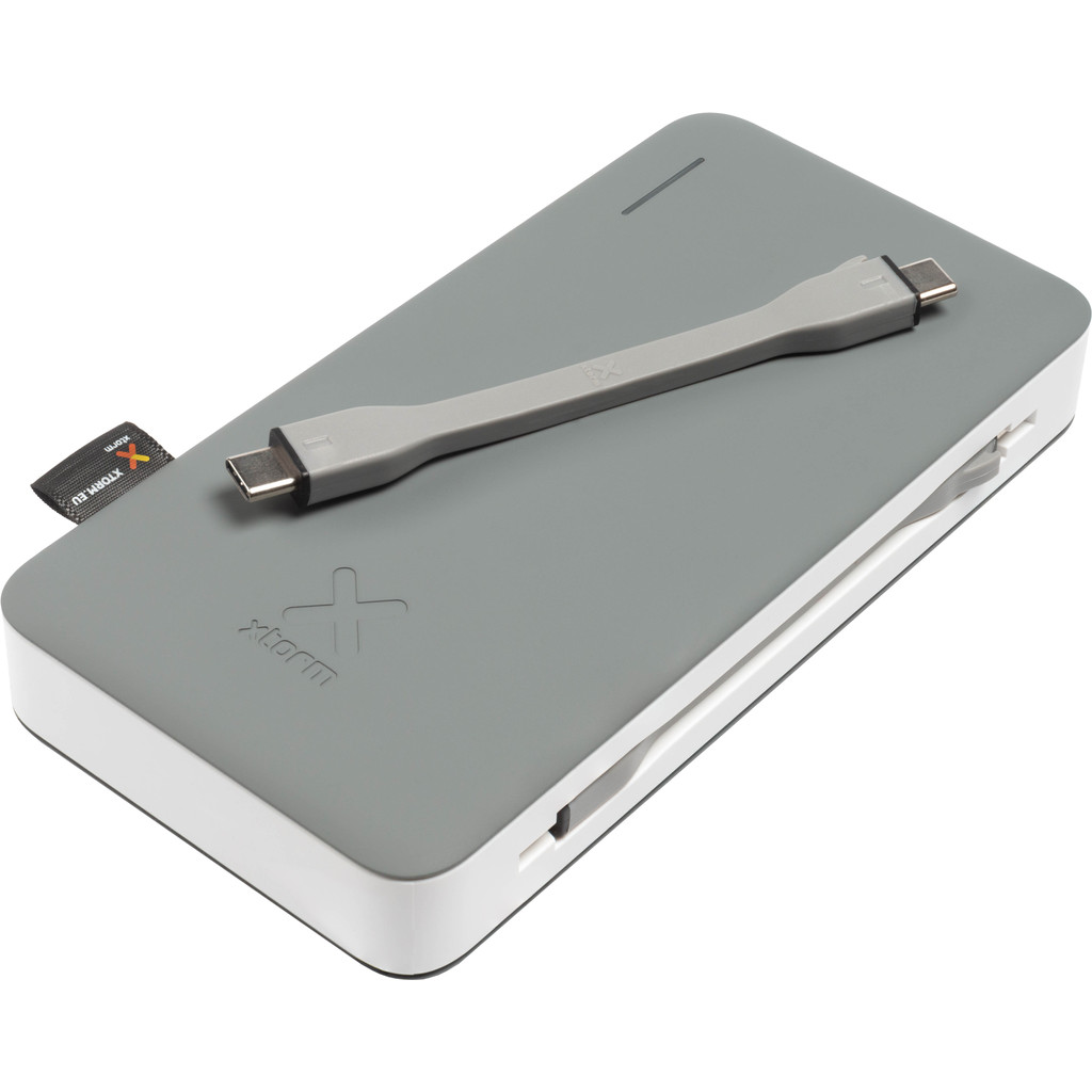 Xtorm Apollo Powerbank 15.000 mAh met Power Delivery en Quick Charge Grijs