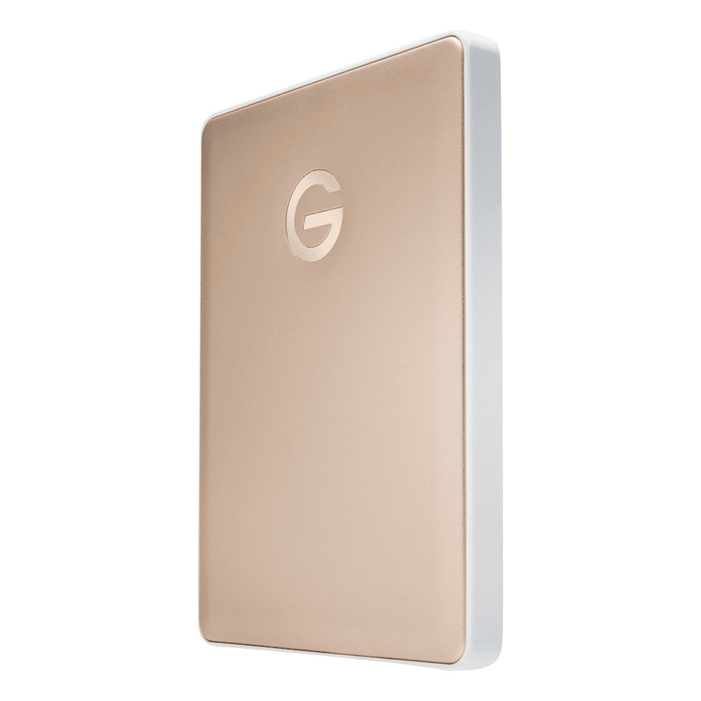 G-Technology G-Drive Mobile USB-C 2TB Goud
