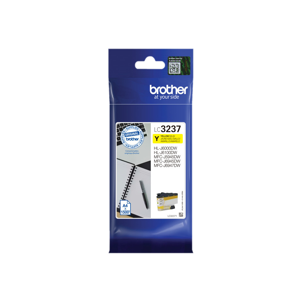 Brother LC-3237Y Cartridge Geel