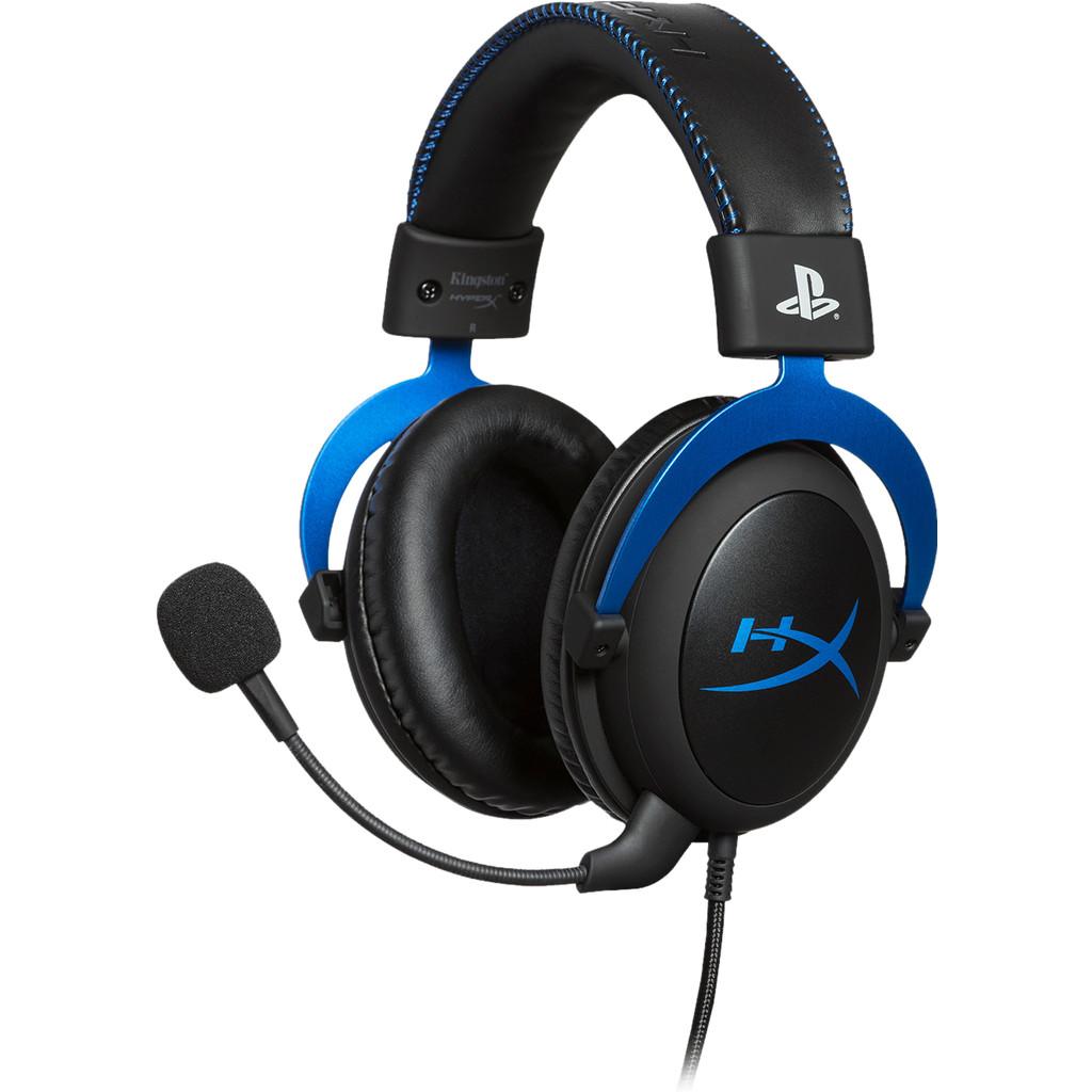 HyperX Cloud Gaming Headset PS4 Blauw