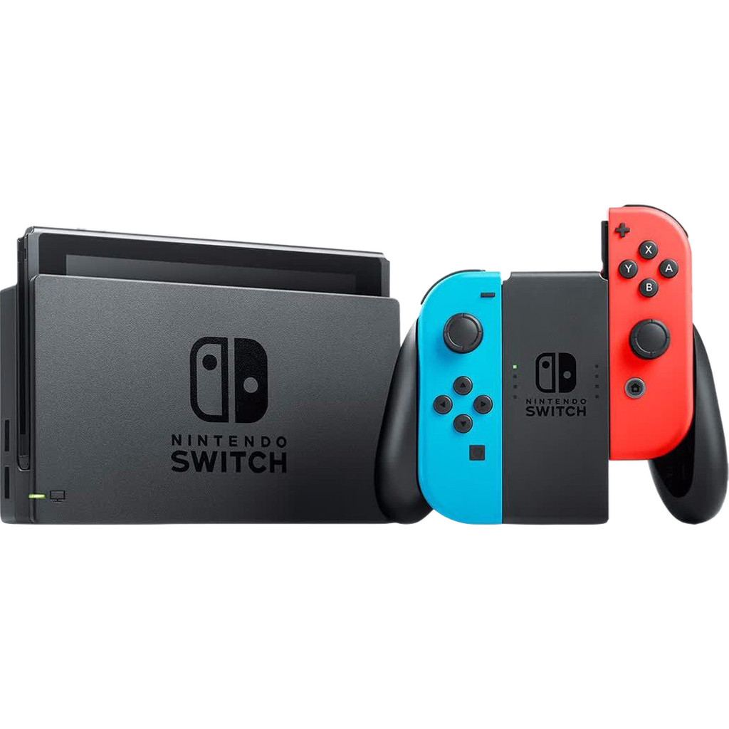 Nintendo Switch (2019 Upgrade) Rood/Blauw