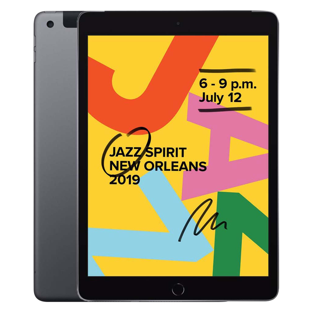 Apple iPad (2019) 128 GB Wifi + 4G Space Gray