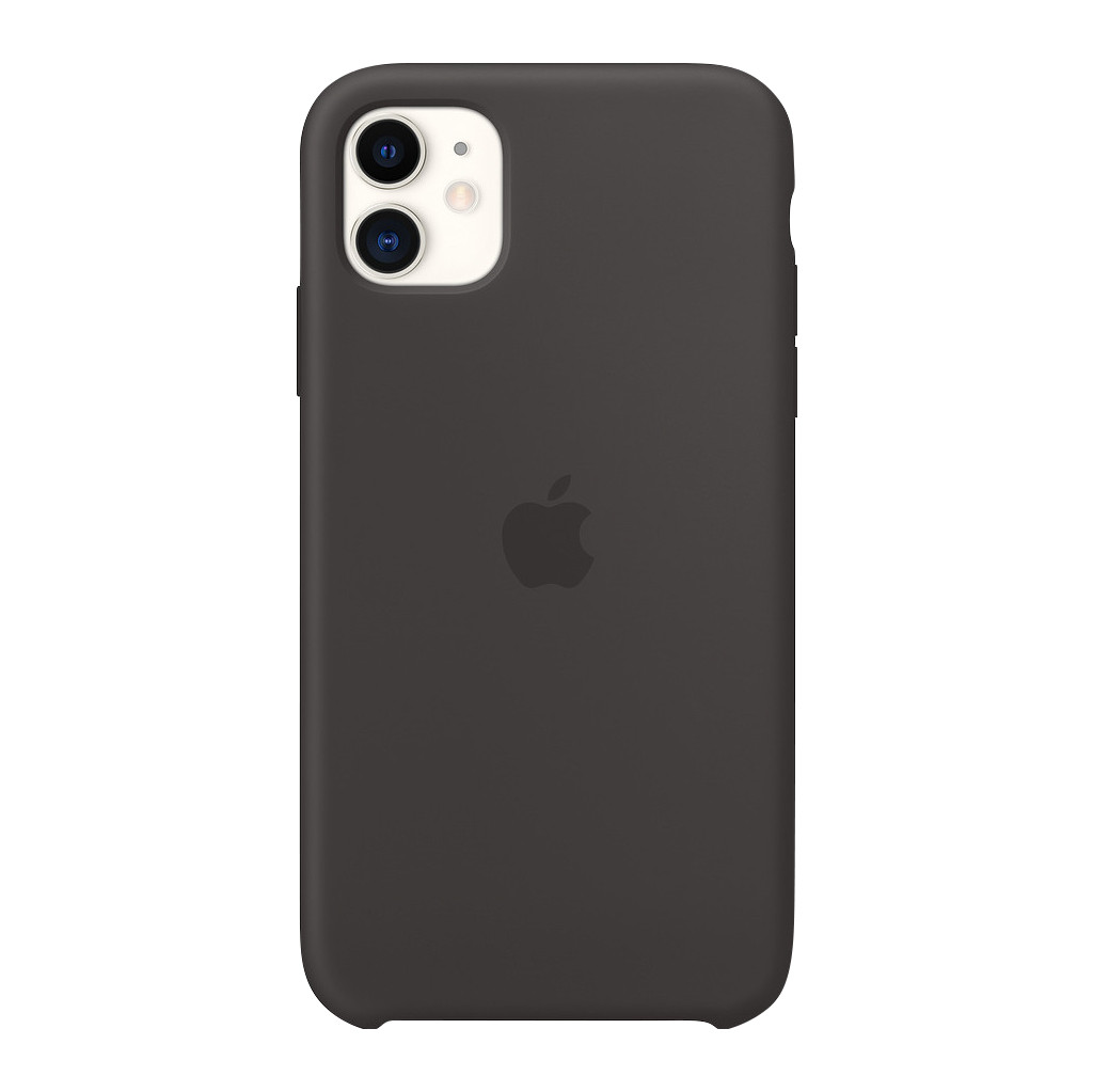 Apple iPhone 11 Silicone Back Cover Zwart