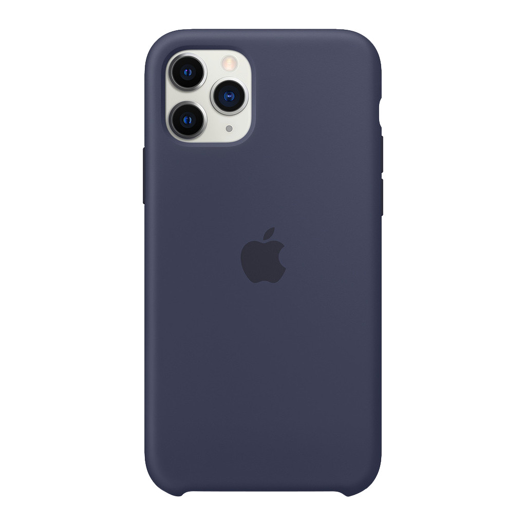 Apple iPhone 11 Pro Silicone Back Cover Middernachtblauw