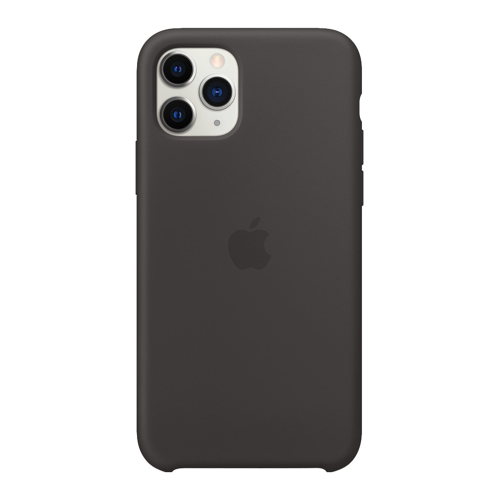 Apple iPhone 11 Pro Silicone Back Cover Zwart
