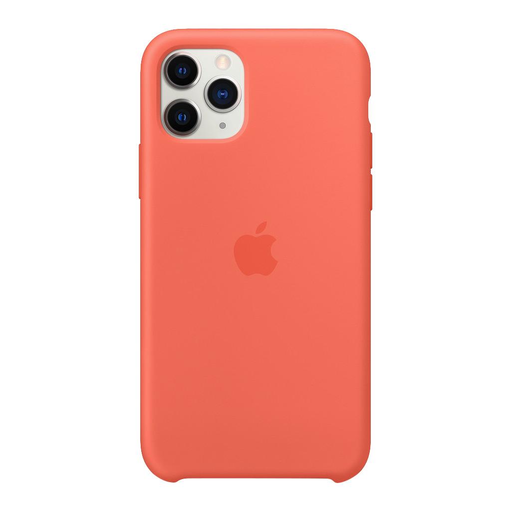 Apple iPhone 11 Pro Silicone Back Cover Mandarijn