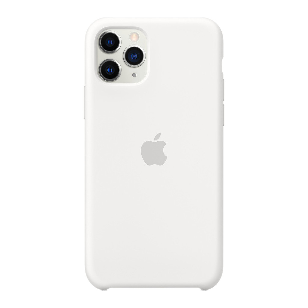 Apple iPhone 11 Pro Max Silicone Back Cover Wit