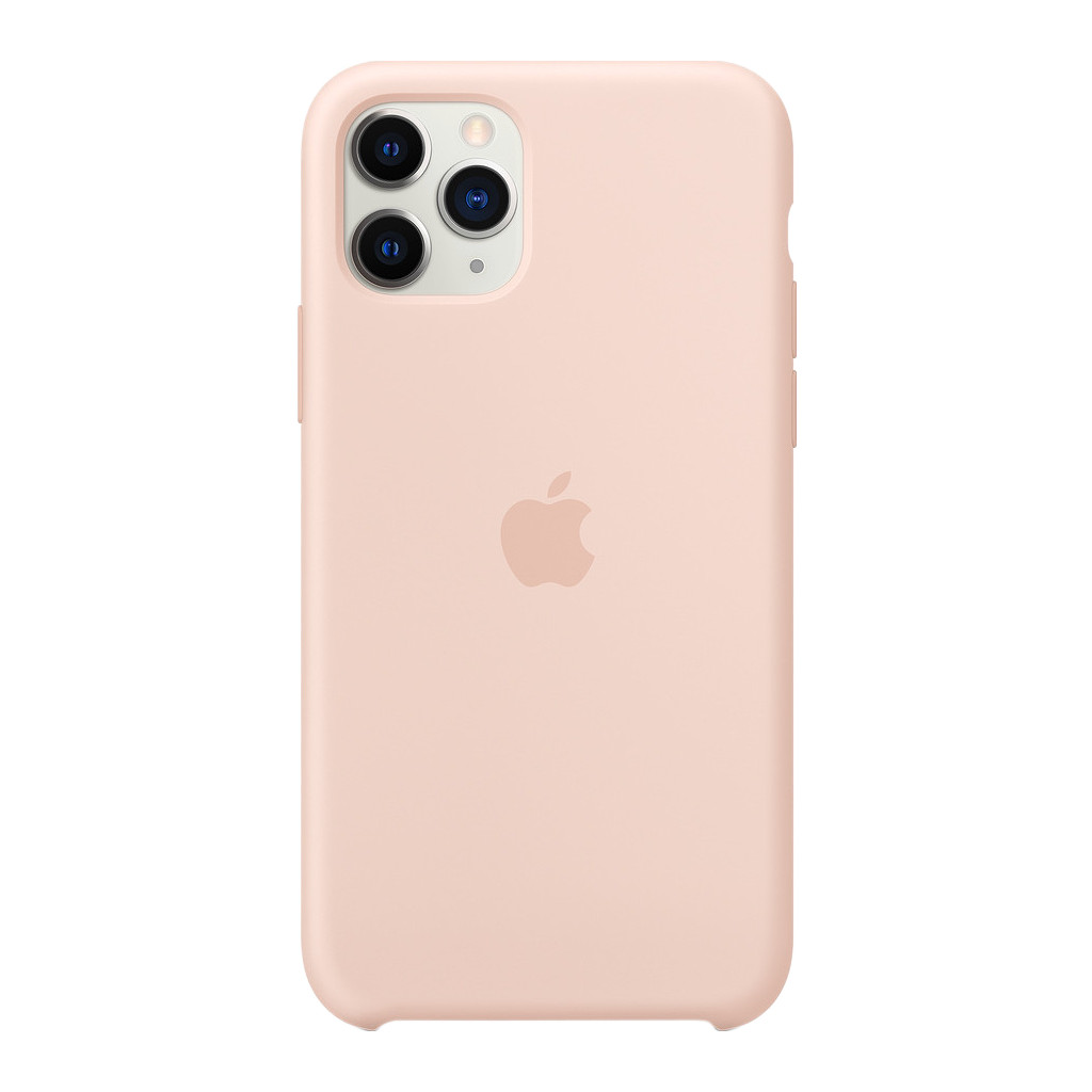 Apple iPhone 11 Pro Max Silicone Back Cover Rozenkwarts