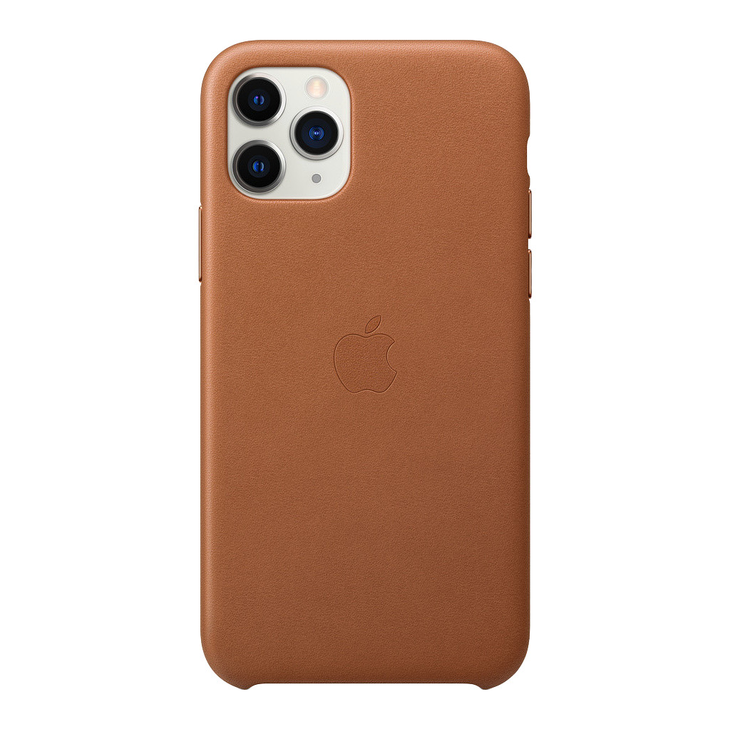 Apple iPhone 11 Pro Max Leather Back Cover Zadelbruin