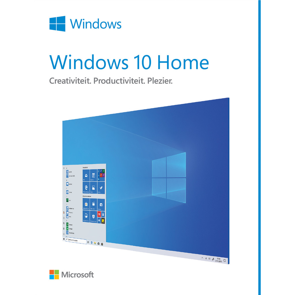 Microsoft Windows 10 Home 32/64-bit FR