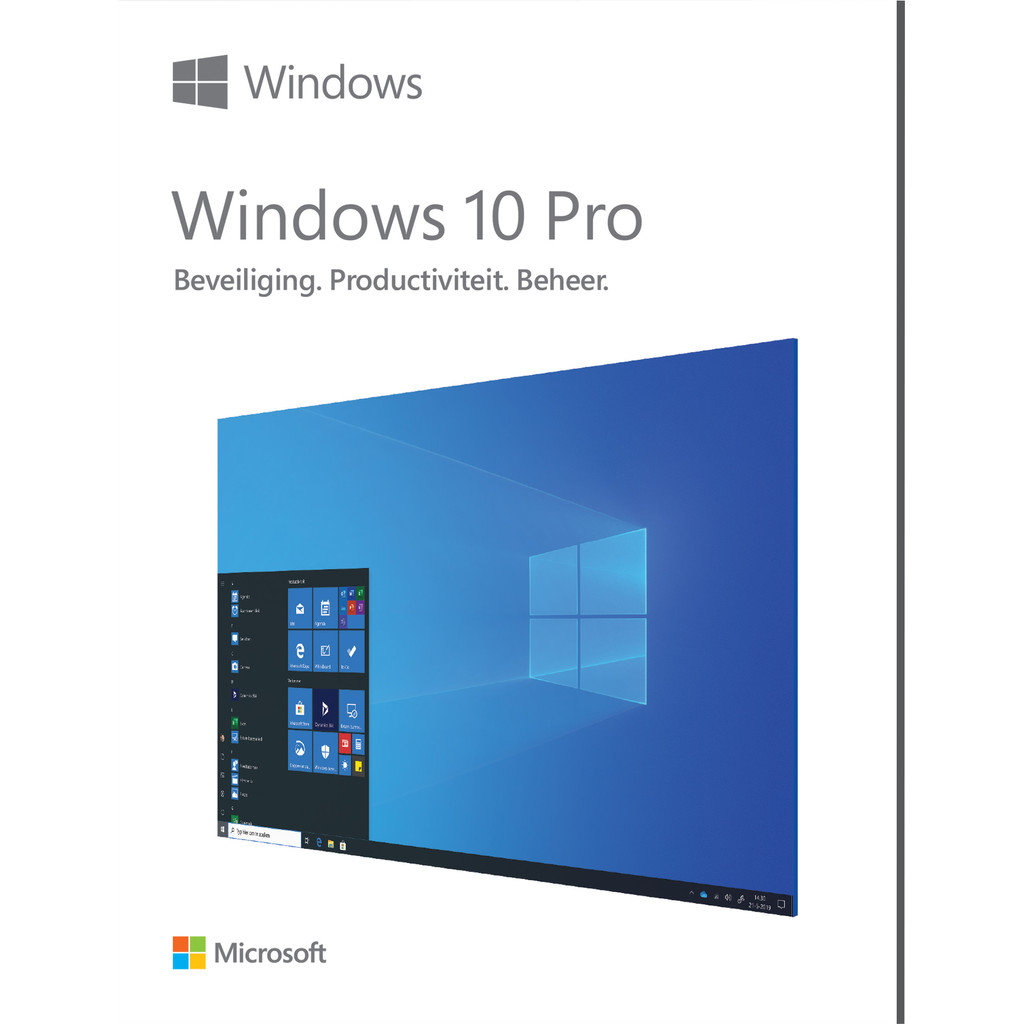 Microsoft Windows 10 Pro 32/64-bit FR
