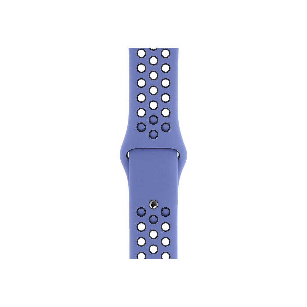Apple Watch 40mm Siliconen Horlogeband Nike Sport Royal Pulse/Zwart S/M & M/L