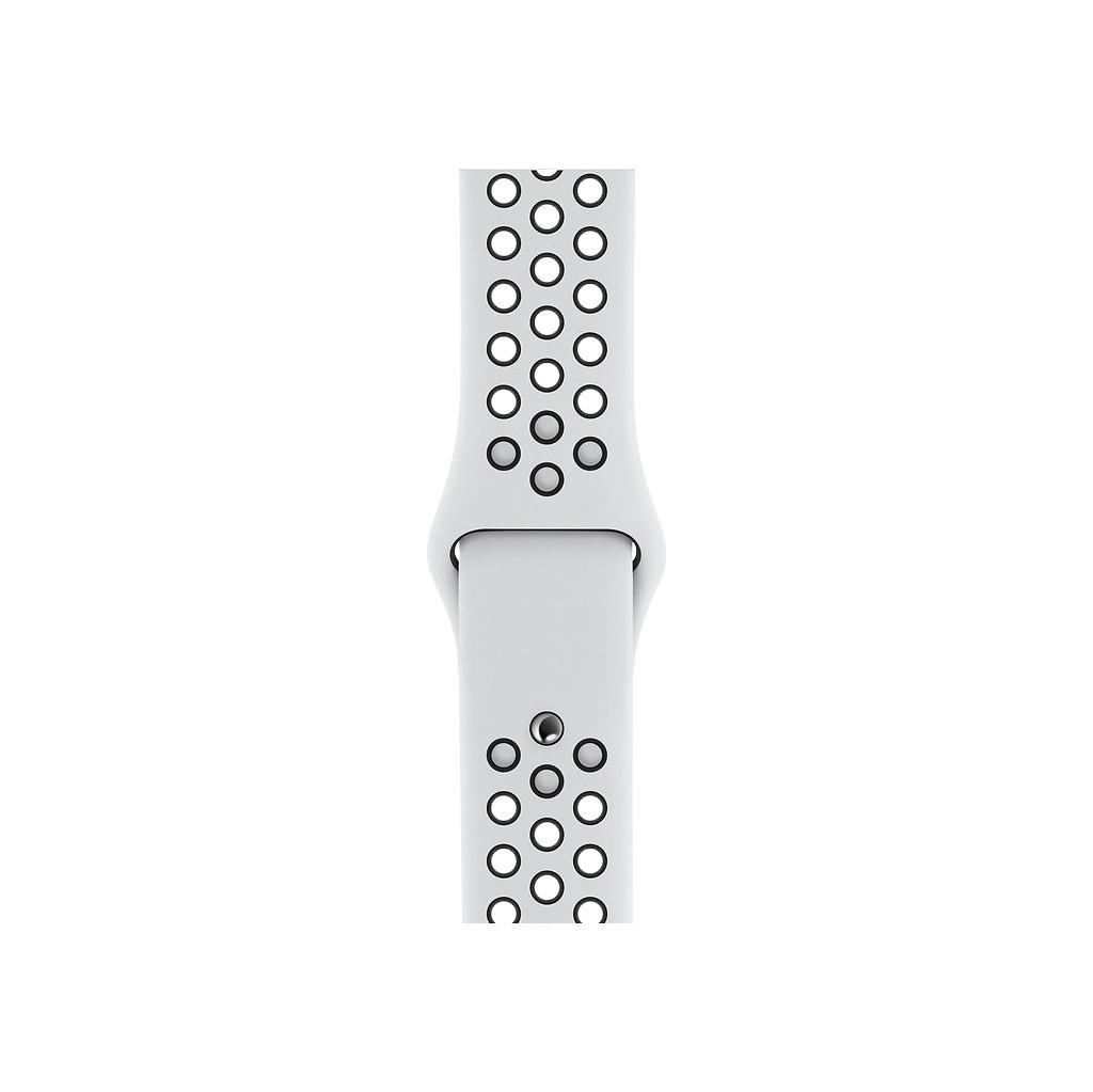 Apple Watch 40 mm Siliconen Horlogeband Nike Sport Platina/Zwart