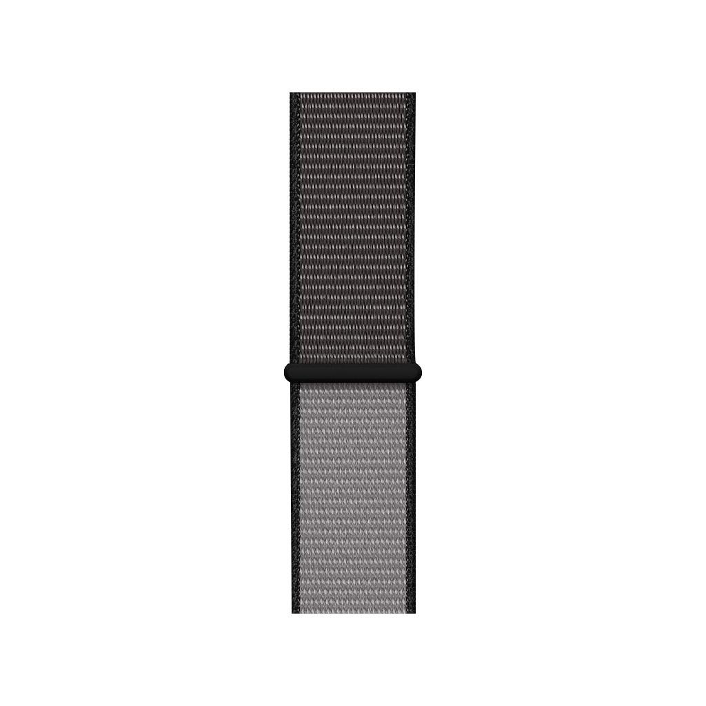 Apple Watch 44 mm Nylon Sport Loop Horlogeband Anchor Gray