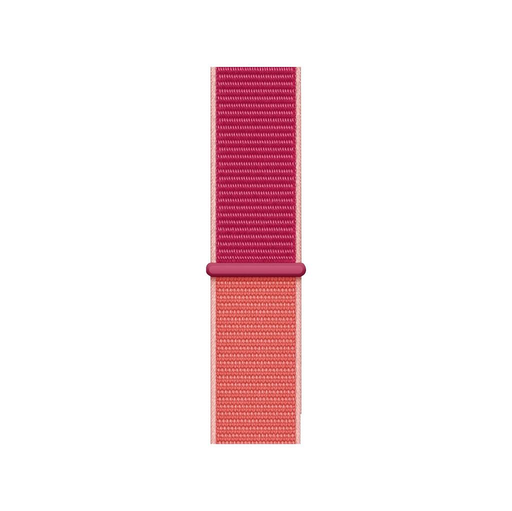 Apple Watch 44mm Nylon Sport Loop Horlogeband Pomegranate