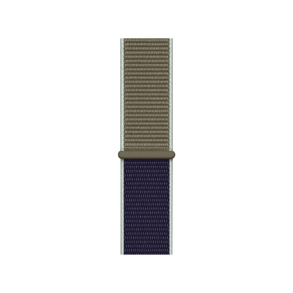 Apple Watch 44mm Nylon Sport Loop Horlogeband Khaki