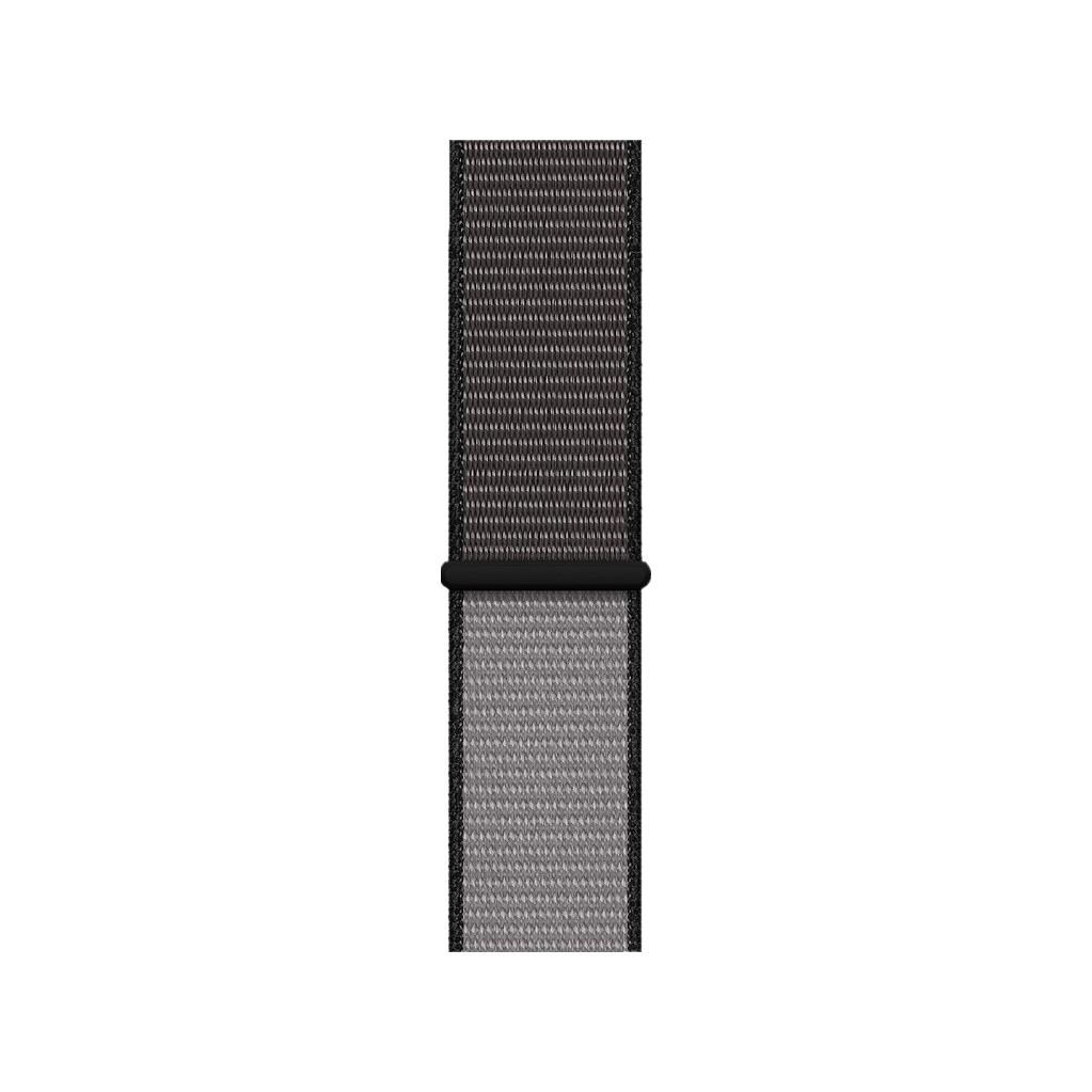 Apple Watch 44mm Nylon Sport Loop Horlogeband Diepgrijs XL
