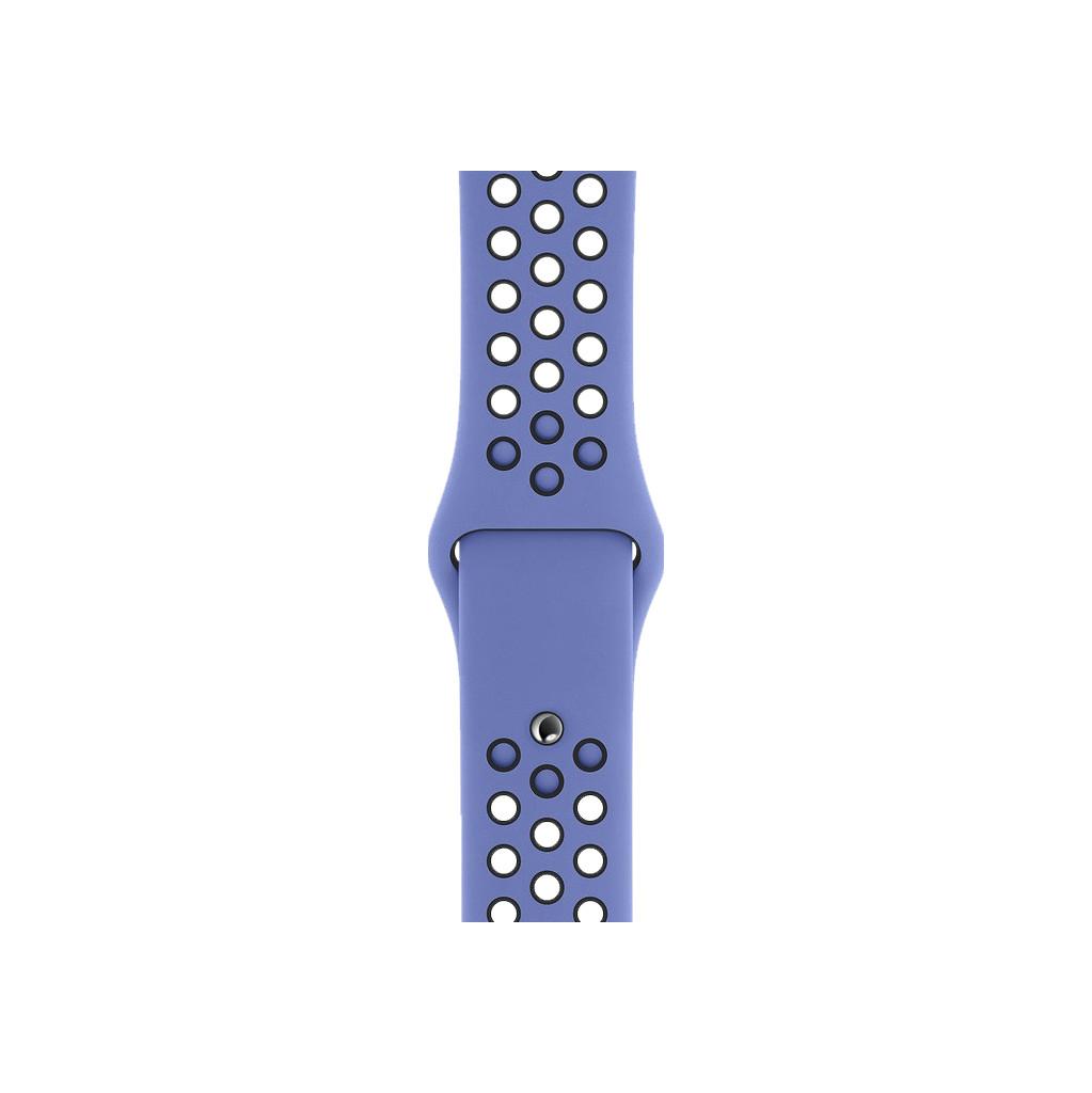 Apple Watch 44 mm Siliconen Horlogeband Nike Sport Royal Pulse/Zwart