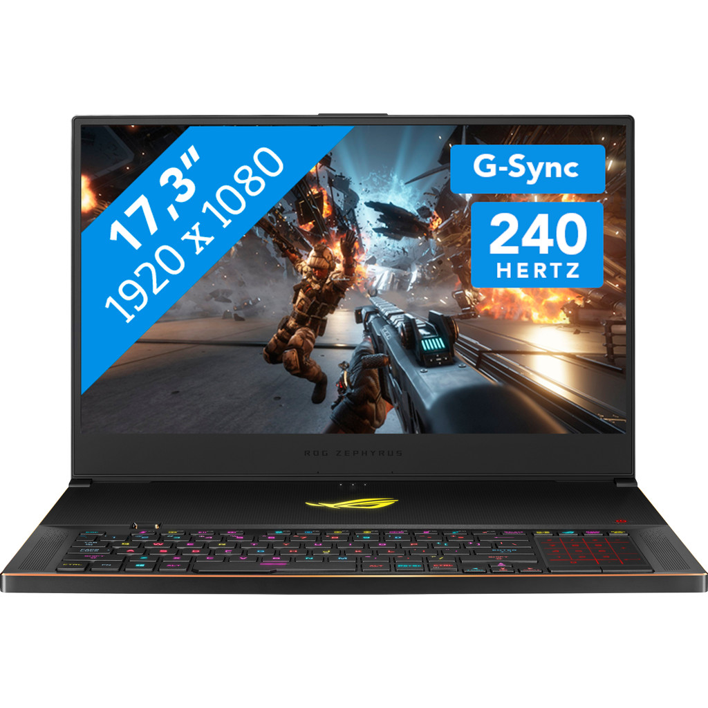 Asus ROG Zephyrus S GX701GXR-H6071T-BE Azerty