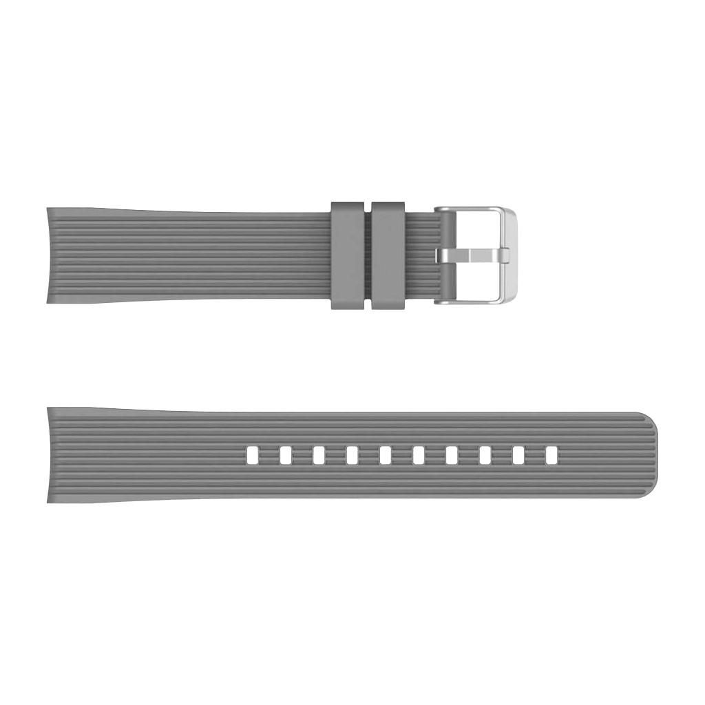 Just in Case Samsung Galaxy Watch Active Siliconen Bandje Grijs
