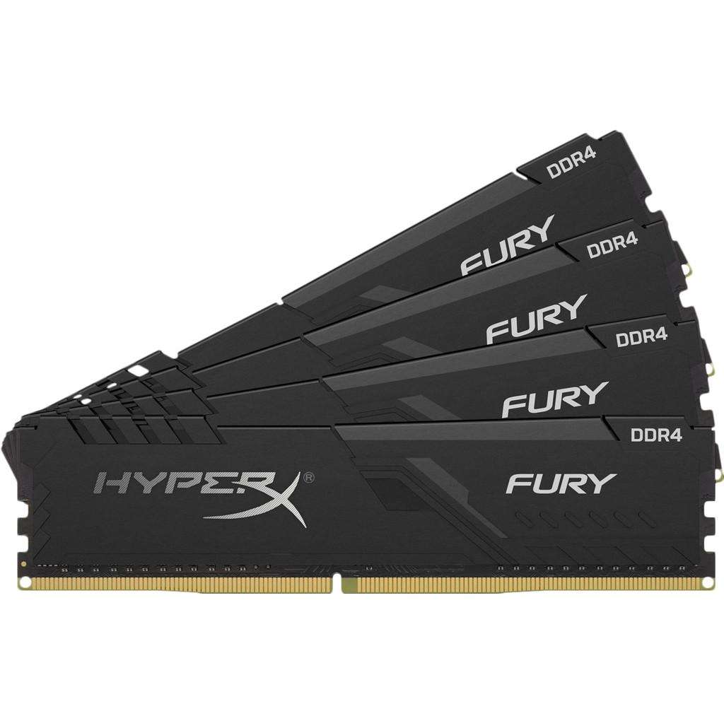 Kingston HyperX Fury 16GB DDR4 DIMM 2400 MHz (4x4GB)