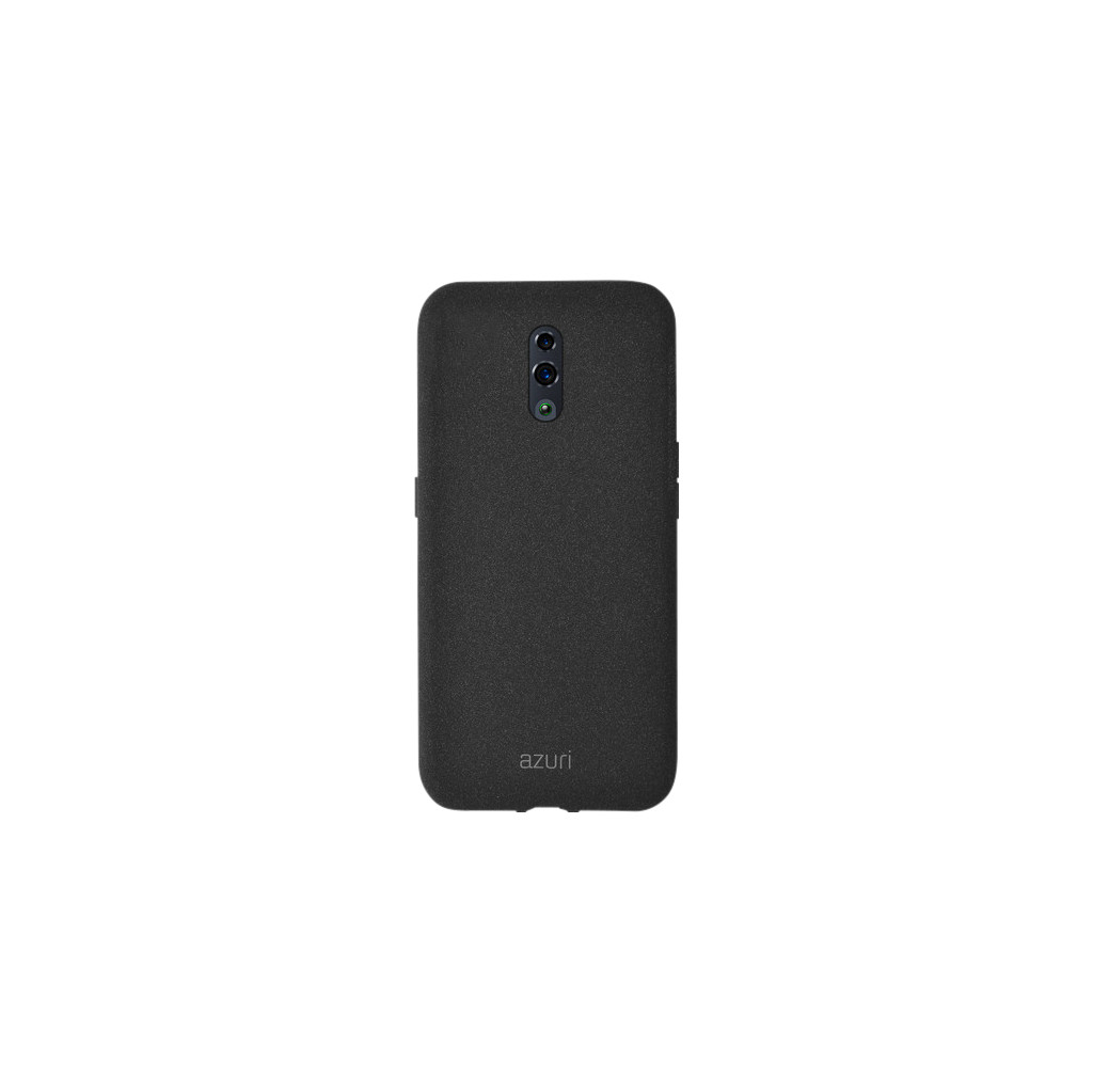 Azuri Flexible Sand Oppo Reno Back Cover Zwart