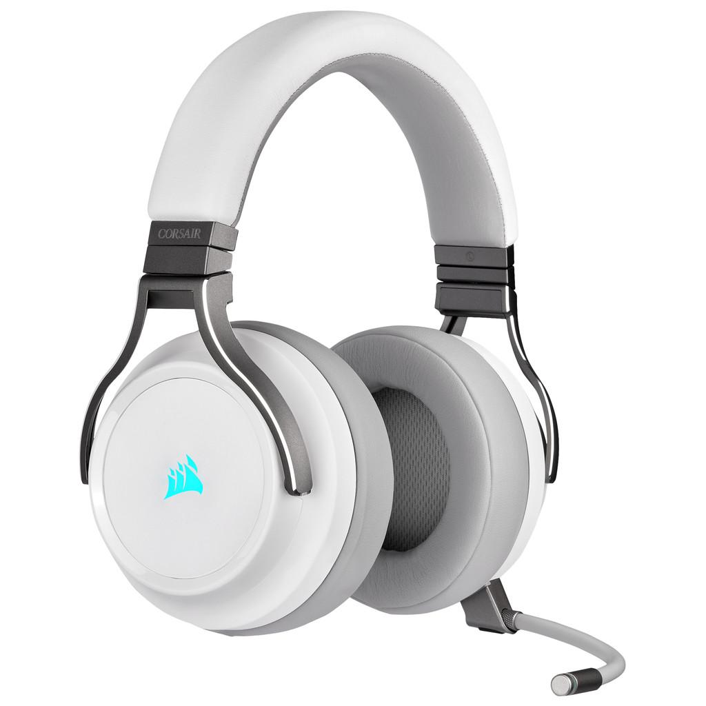 Corsair Virtuoso RGB Draadloze Gaming Headset Wit