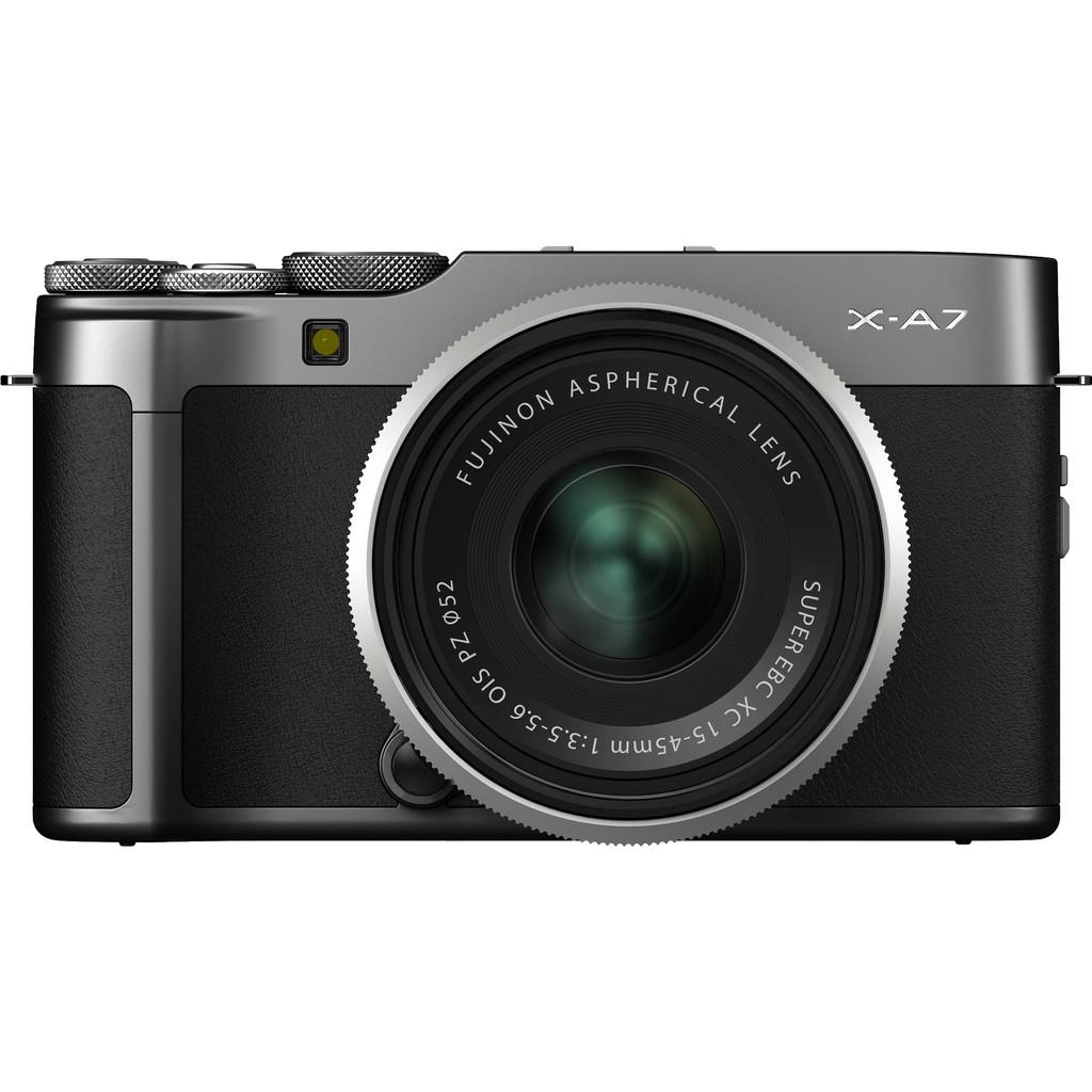 Fujifilm X-A7 + XC 15-45 OIS PZ Donkergrijs