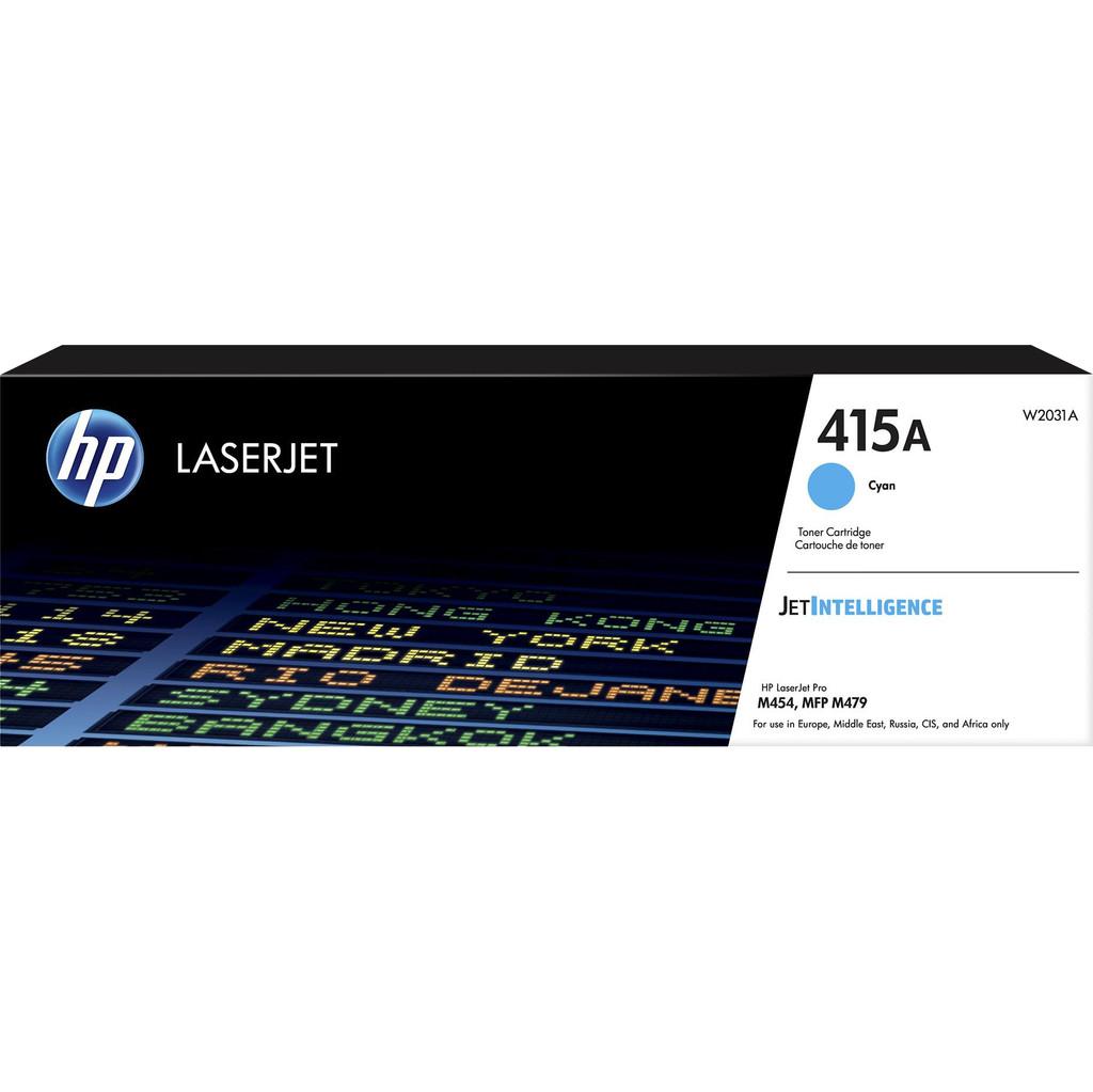 HP 415A originele cyaan LaserJet tonercartridge