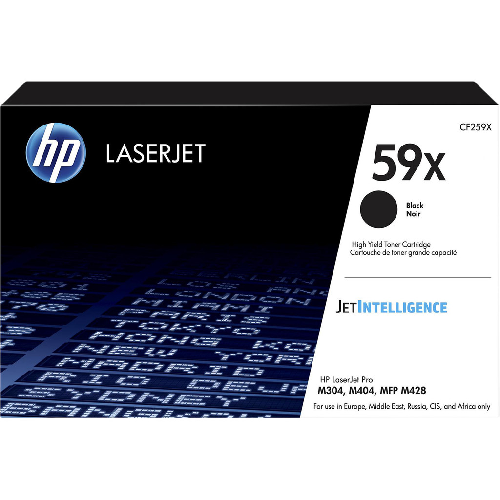 HP 59X originele high-capacity zwarte LaserJet tonercartridge