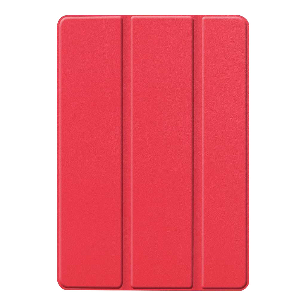 Just in Case Smart Tri-Fold Apple iPad (2019) Book Case Rood