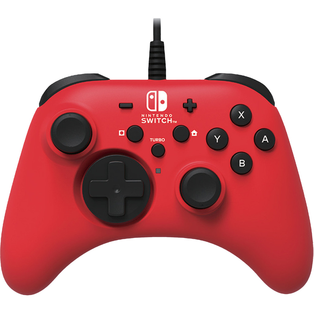 HORI – Nintendo Switch Red Horipad Wired Gamepad