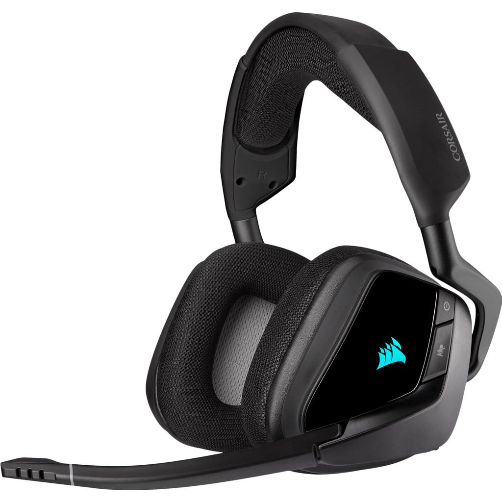 Corsair Void RGB Elite Draadloze Gaming Headset PC/PS4 Carbon/Zwart