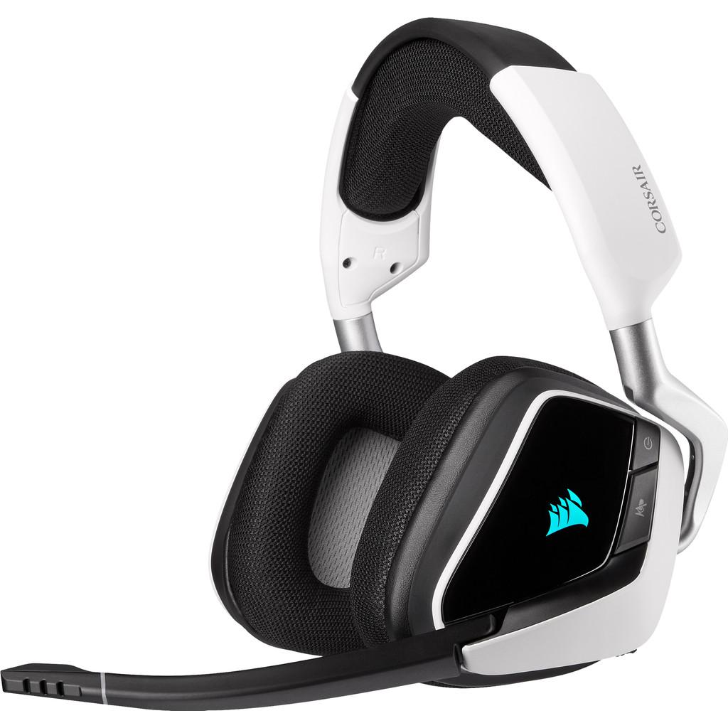 Corsair Void RGB Elite Draadloze Gaming Headset PC/PS4 Zwart/Wit